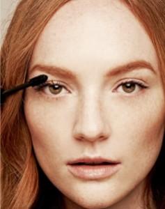 eye make up, mascara, kohl liner, new mum
