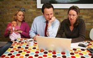 Justine Roberts, Mumsnet, David Cameron