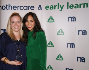 Blog award, Myleene Klass, Gurgle awards, Mothercare, Alison Perry
