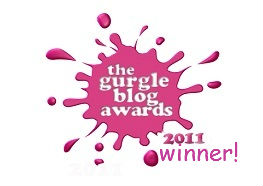 Gurgle Awards, blog awards, Mothercare