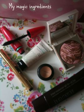 Make up, cosmetics, new mum makeover, Cath Kidston