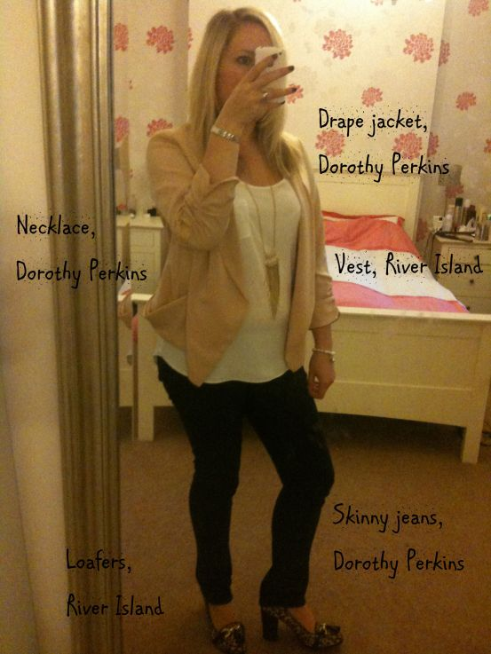 Back to work outfit, working mum chic, working mum fashion, Dorothy Perkins jeans