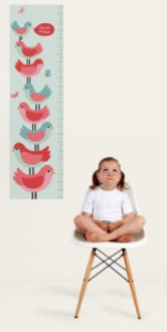 Tiny Me, heigh chart, gift for child