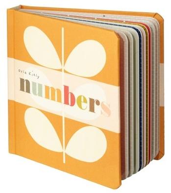 Orla Kiely baby book, Orla Keily, stylish baby gift