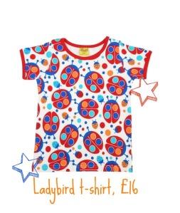 Duns Sweden Ladybird t-shirt