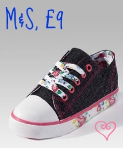 Toddler trainers, marks and spencer