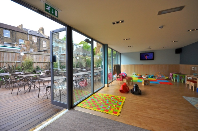 The Florence kids' play room, family-friendly pub, pub playroom, kids play area, Herne Hill