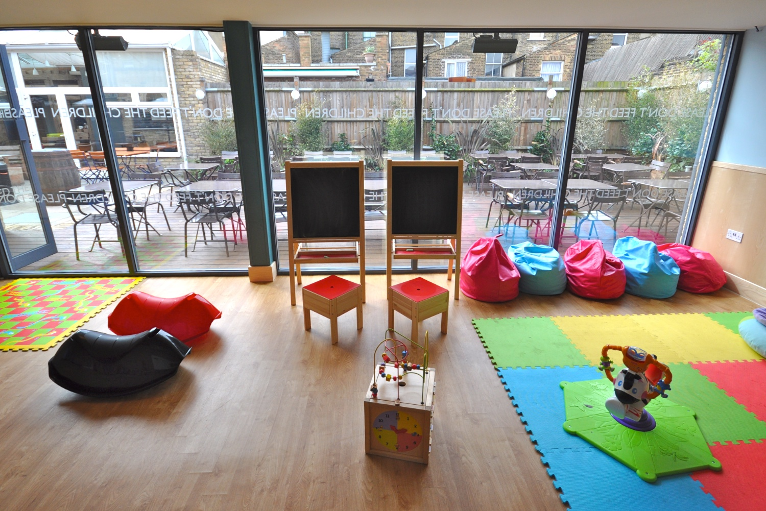 The florence in herne hill a pub with a kids 39 playroom for Playroom floor ideas