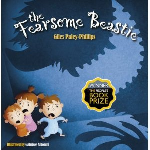 The Fearsome Beastie, Giles Paley-Phillips, children's book, top toddler tips