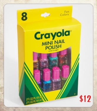 Crayola Nail Polish, colour pop nails, Crayola nail varnish, nostalgia, CBeebies, Postman Pat