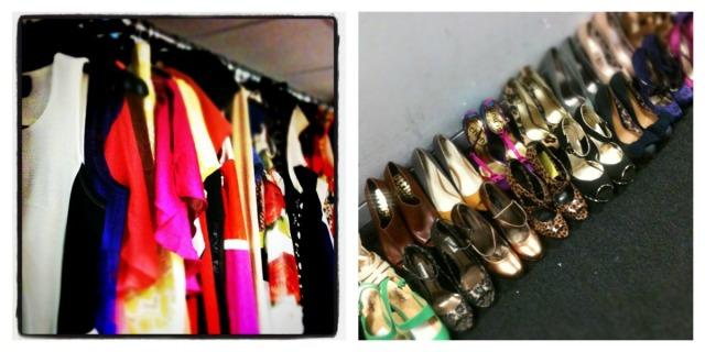More magazine, fashion cupboard, shoes, working mum