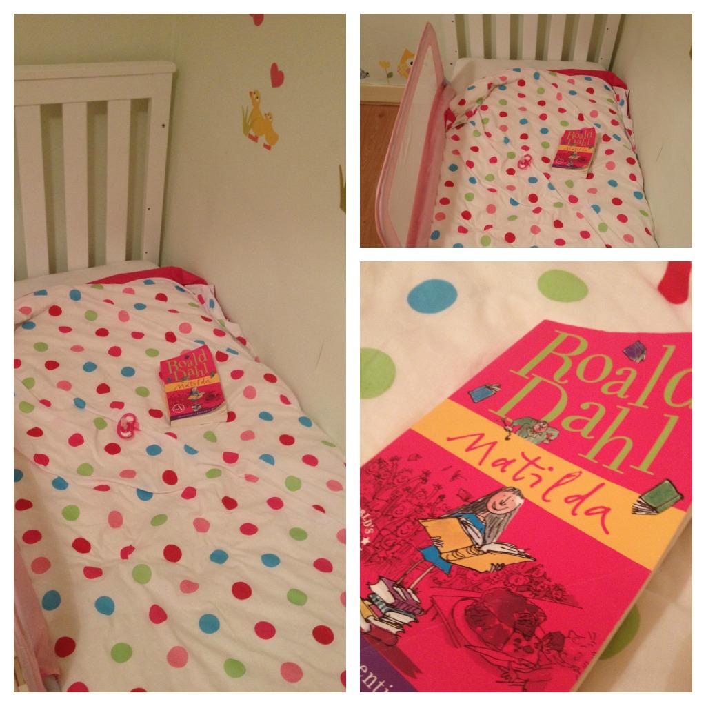 Matilda, Roald Dahl, Weird comforter, Teddy replacement, toddler