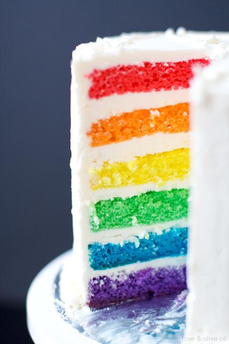 Rainbow Cake recipe, rainbow trend, rainbow clothing, rainbow decor
